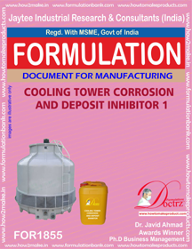 Cooling tower deposit corrosion inhibitor formula 1 (FOR 1855)