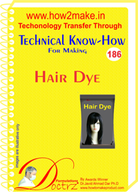 Technical Know-How For hair Dye (TNHR186)