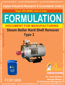 Steam boiler hard shell remover type 2 (Formula 1869)