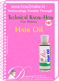 Technical Know-How For Hair Oil (TNHR187)