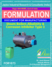 Steam Boiler Alkalinity and corrosion inhibitor 3 (FOR 1873)
