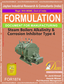 Steam Boiler Alkalinity and corrosion inhibitor 4 (FOR 1874)