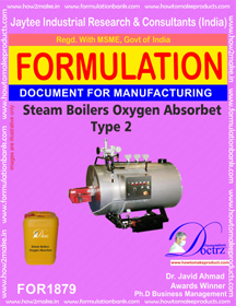 Steam boiler oxygen absorbent type 2 (FOR 1879)