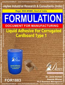 Liquid Adhesive for corrugated board industry 1(FOR1883)