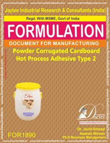 Powder Adhesive for hot process corrugated cardboard 2(FOR1890)