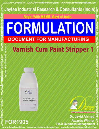 Varnish cum paint stripper 1 chemical formula (FOR1905 )