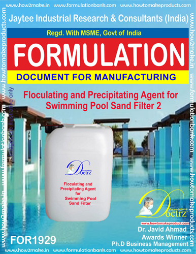 Flocculating Precipitating agent for swimming Pool sand filter2