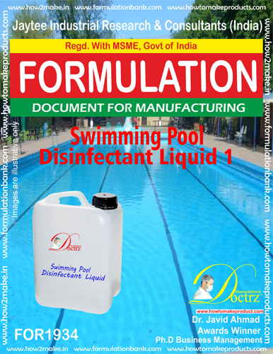 Swimming Pool disinfectant Liquid 1(FOR 1934)