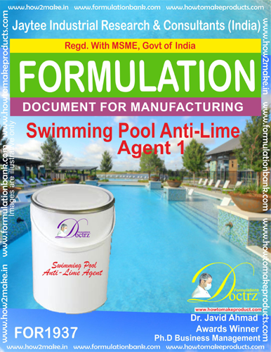 Swimming Pool Anti-LIME AGENT 1(FOR 1937)