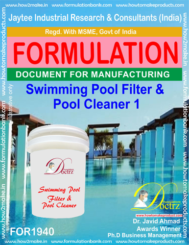 Swimming Pool Filter and Pool Cleaner 1(FOR 1940)