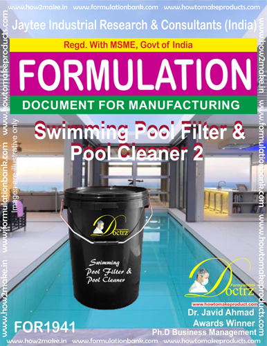 Swimming Pool Filter and Pool Cleaner 2(FOR 1941)