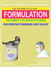 Fuel Resistant Rubberised joint sealant (formula 195)