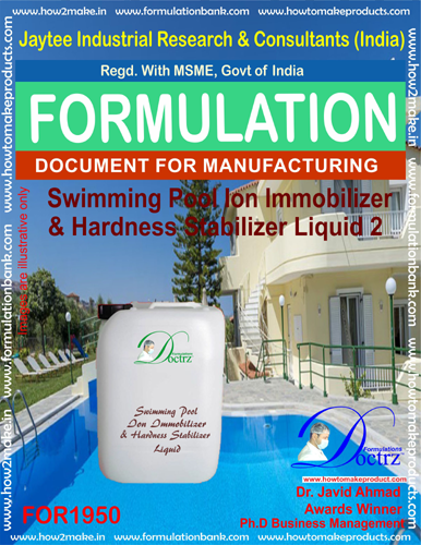 Swimming Pool Ion immobilizer, Hardness stabilizer agent 2