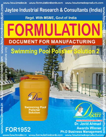 Swimming Pool Polisher solution formula 2(FOR 1952)
