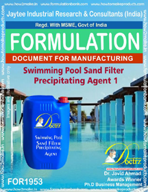 Swimming Pool sand filter precipitating agent 1(FOR 1953)