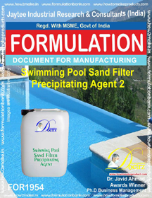 Swimming Pool sand filter precipitating agent 2(FOR 1954)