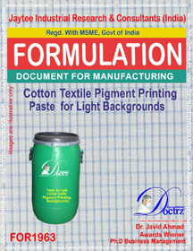 Textile printing paste light background for cotton FO1963