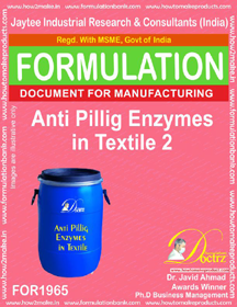 Textile Anti piling enzyme formulation 2 (FOR 1965)