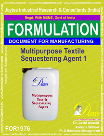 Multipurpose textile sequestering agent formula 1(FOR 1976)
