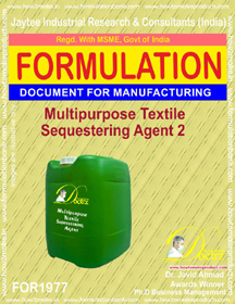 Multipurpose textile sequestering agent formula II (FOR 1977)