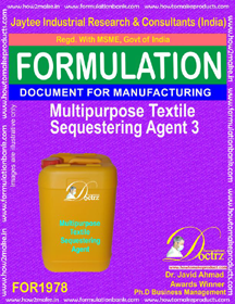 Multipurpose textile sequestering agent formula III (FOR 1978)