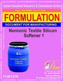 Non-ionic Textile silicon softener formula I (FOR 1979)
