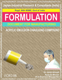 Acrylic Emulsion Chaulking Compound
