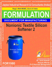 Non-ionic Textile silicon softener formula II (FOR 1980)
