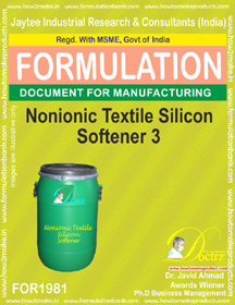 Non-ionic Textile silicon softener formula III (FOR 1981)