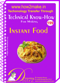 Technical Know-How Report for Instant Food (TNHR199)