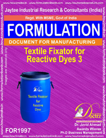 Textile industry Fixator for Reactive dyes 3( FOR1997)
