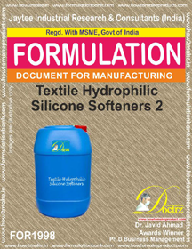 Textile industry hydrophilic silicon softener 2 (FOR1998)
