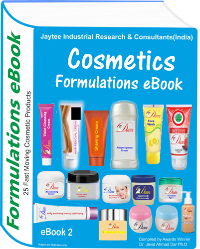 Cosmetics Manufacturing Formulations eBook eBook2
