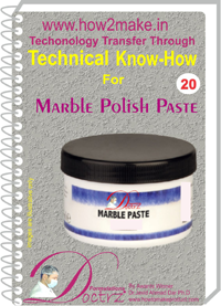 technical knowHow report for Marble polish paste(TNHR 20)