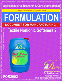 Textile Non-Ionic Softeners 2 (For 2002)