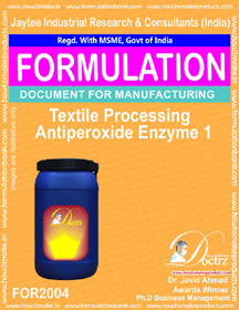 Textile Processing Anti Peroxide Enzymes 1 (For 2004)