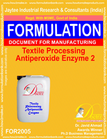 Textile Processing Anti Peroxide Enzymes 2 (For 2005)