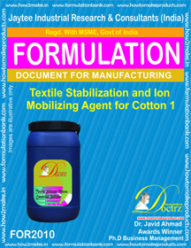 Textile Stabilizing &Ion Immobilizing Agent for Cotton 1 For2010
