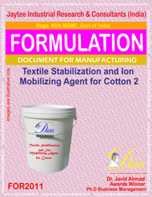Textile Stabilizing &Ion Immobilizing Agent for Cotton 2 For2011