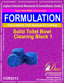 Solid Toilet Bowl Cleaning Block 1 (For 2013)