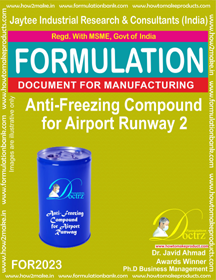 Anti-Freeze Compound For Airport Runway 2 ( for2023)