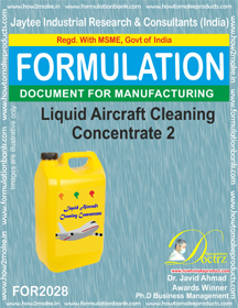 Liquid Aircraft Cleaning Concentrate 2 (Formula 2028 )