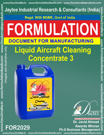 Liquid Aircraft Cleaning Concentrate 3 (Formula 2029 )