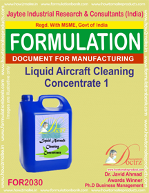 Liquid Aircraft Cleaning Concentrate 1 (Formula 2030 )