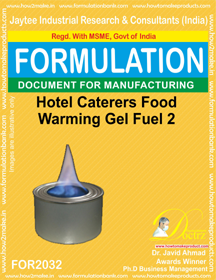 Hotel Caterers Food Warming Gel Fuel 2 (Formula 2032 )