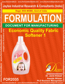 Economic Quality Fabric Softener 1 (Formula 2035)