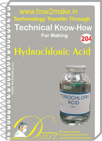 Technical Know-How Report for Hydro Chloric Acid (TNHR204)