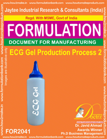 ECG Gel Production Process 2 (Formula 2041)