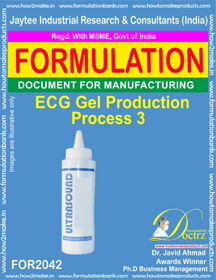 ECG Gel Production Process 3 (Formula 2042)