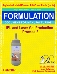 IPL & Lase Gel Production Process 2 (Formula 2043)